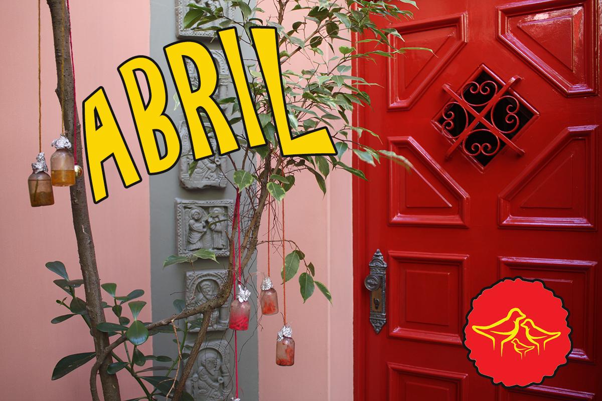 Abril na Casa